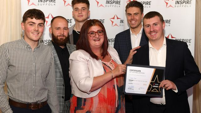 Award-winning youths celebrated at Inspire Suffolk annual ceremony